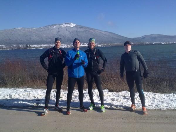 Sotekaci Andrej, Uros, Matej in Boris pod Slivnico
